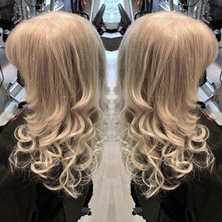 Blonde Curly Waves