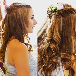 Bridesmaid Hair or Prom Look